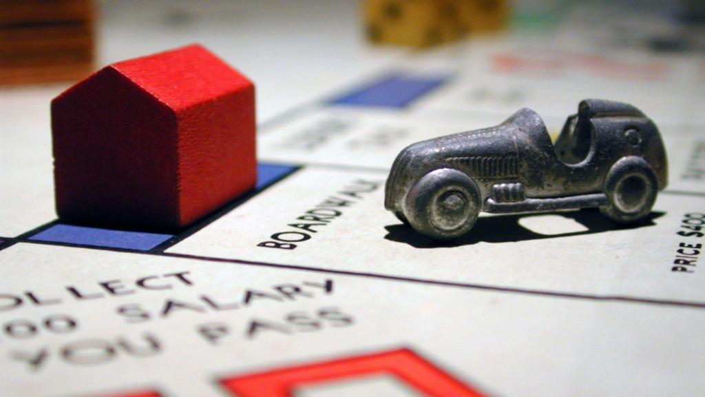 the monopoly car and property