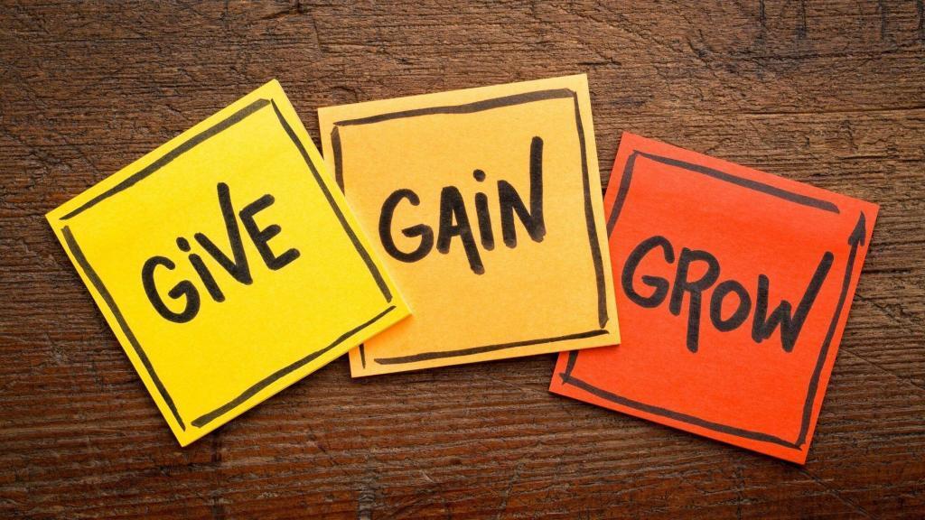 give gain grow